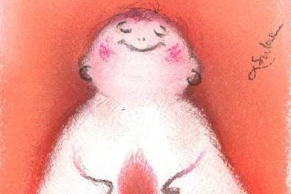 明日香 色のね パステル画 マタニティ イラスト アート asuka ironone