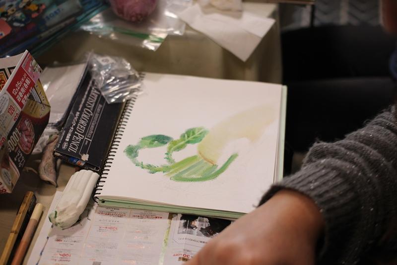 パステル画 デッサン スケッチ 絵 パステルアート 色のね いろのね ironone 明日香 asuka 生徒作品
