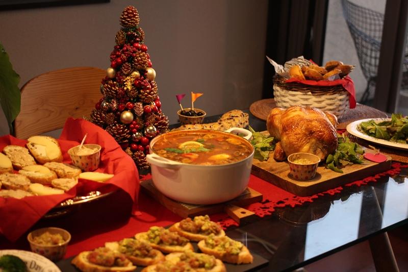 クリスマス ホームパーティ 色のね 明日香