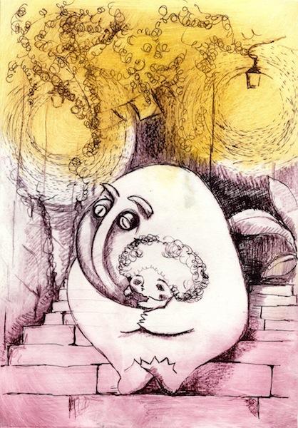 沖明日香 色のね パステル画 パステルアート イラストレーター イラスト 画家 アート 絵 版画