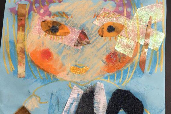似顔絵 にがおえ アートワークショップ アートイベント 色と暮らしのマーケット 色のね いろのね ironone 沖明日香 絵画教室 絵画造形教室 こども工作 おえかき 関西 大阪 枚方 八幡