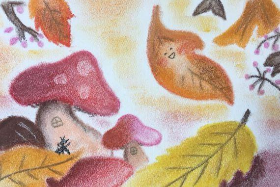かわいい 絵 パステル画 パステルアート デッサン イラスト ドローイング 色のね いろのね ironone 沖明日香 絵画教室 絵画造形教室 こども工作 おえかき 関西 大阪 枚方 八幡